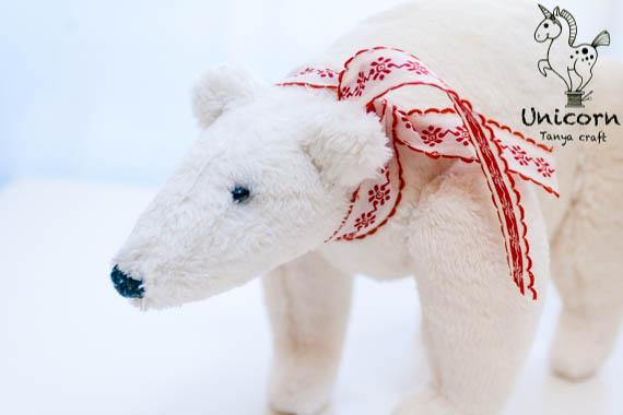 Unicorn: Tilda White Polar Bear / Тильда Белый Полярный ... Мишка Выкройка Мк