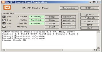 Ari Makalah Xampp Teori Sistem Basis Data