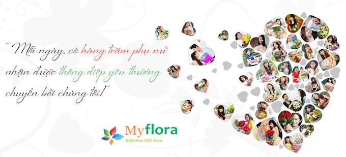 hoa tuoi MyFlora