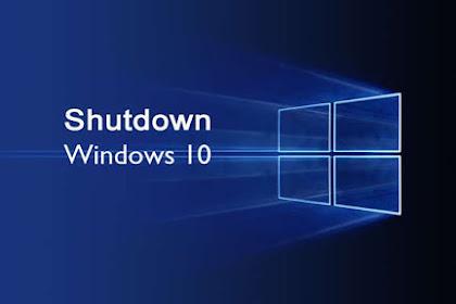 Penyebab Shutdown Windows 10 Lama