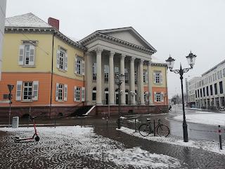 Дворец на Ронделльплац, XIX век, Карлсруэ