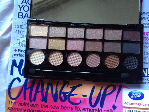 Review: The Salvation Palette by Makeup Revolution