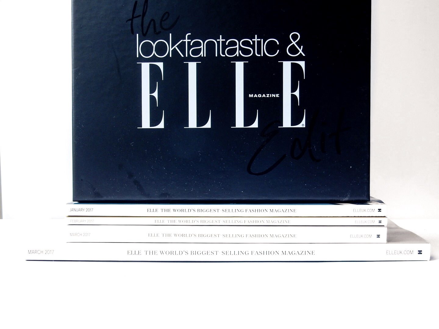 THE LOOK FANTASTIC ELLE EDIT BEAUTY BOX | FIRST THOUGHTS |