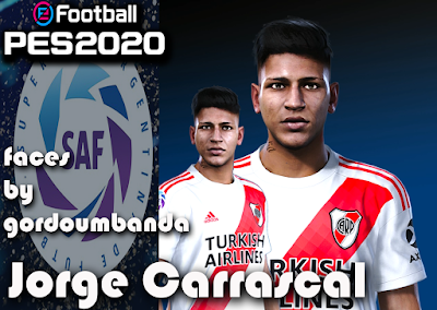PES 2020 Faces Jorge Carrascal by Gordoumbanda