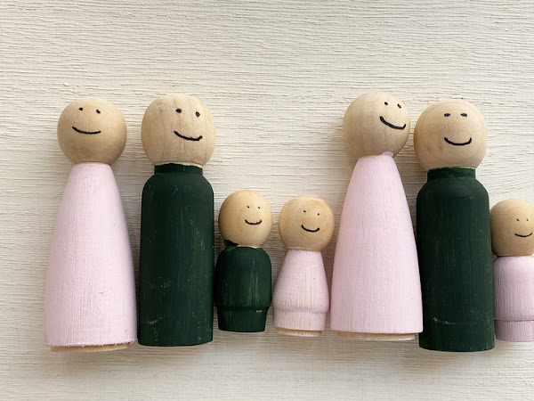 Simple Wooden Doll Craft