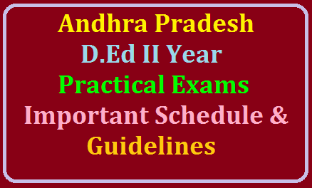 Andhra Pradesh D.Ed II Year Practical Exam Schedule, Important Dates and Guidelines 2019 /2019/07/andhra-pradesh-ded-ii-year-practical-exams-schedule-important-dates-and-guidelines-2019.html