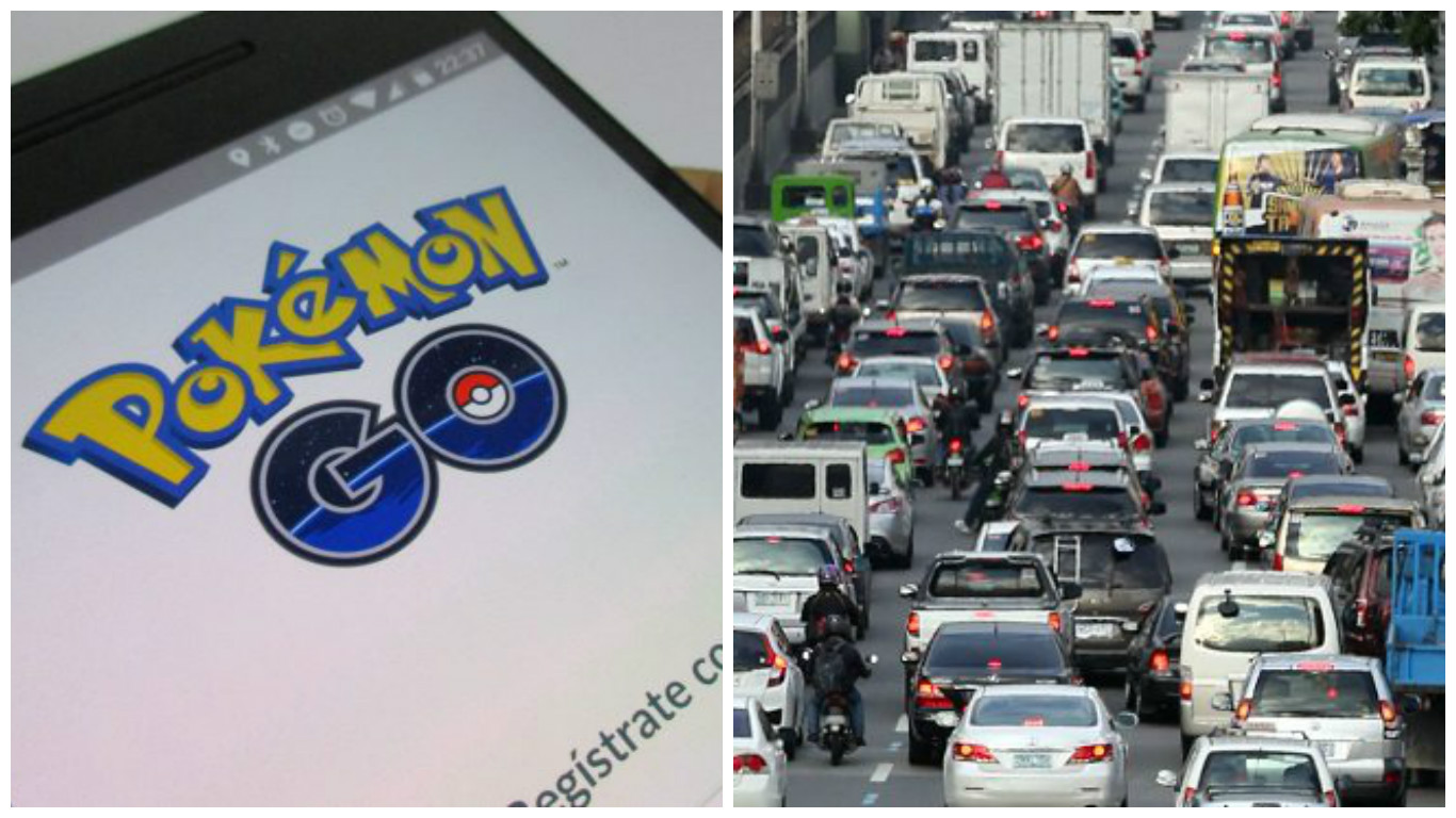 EDSA traffic allegedly aggravated by 'Pokemon Go' fever