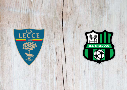 Lecce vs Sassuolo -Highlights 3 November 2019