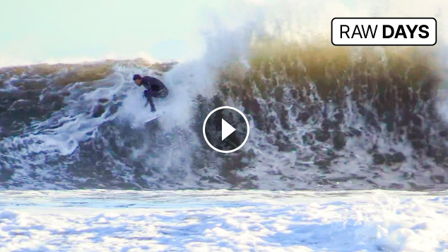 RAW DAYS Sandspit California Low tide surfing in May