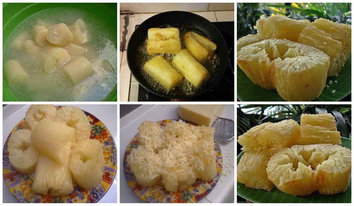 Resep Singkong Keju Goreng Crispy di Luar dan Empuk dii Dalam!
