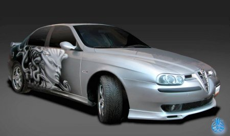 Auto Tuning M 246 Glichkeit Best Image In Best Airbrush Cars