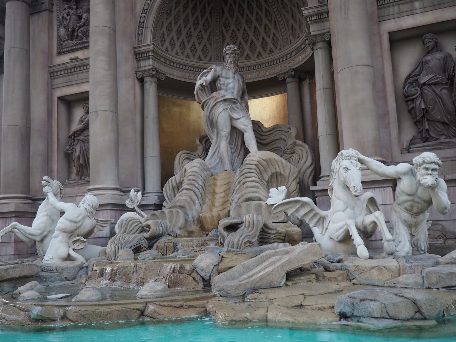 Trevi Fountain at Las Vegas, Nevada