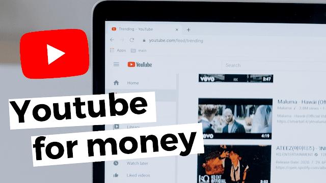 Dapat uang dari Youtube
