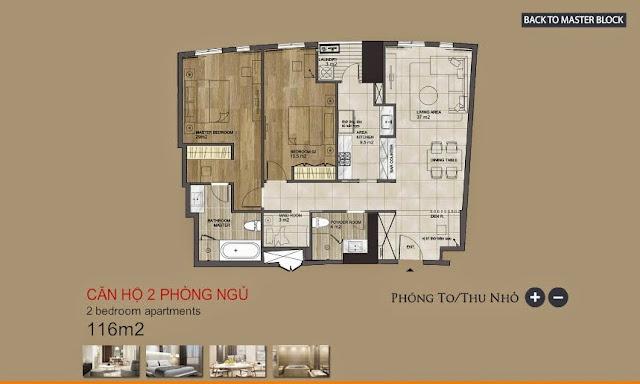 Cho thuê căn hộ The EverRich 2 Quận 7 (có nội thất)