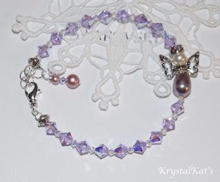 Handmade Angel Bracelet by Krystalkats