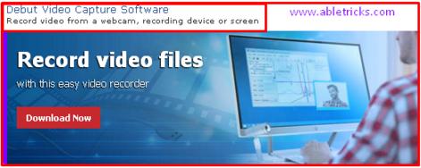 Debut Video Capture Software