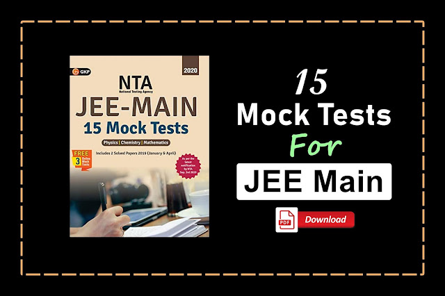 [PDF] 15 Mock Tests for JEE Main By GKP Publication   Download