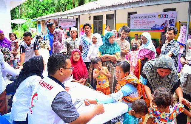 LAZIS PLN - BSMI Laksanakan Program Mobil Klinik di Desa Tertinggal