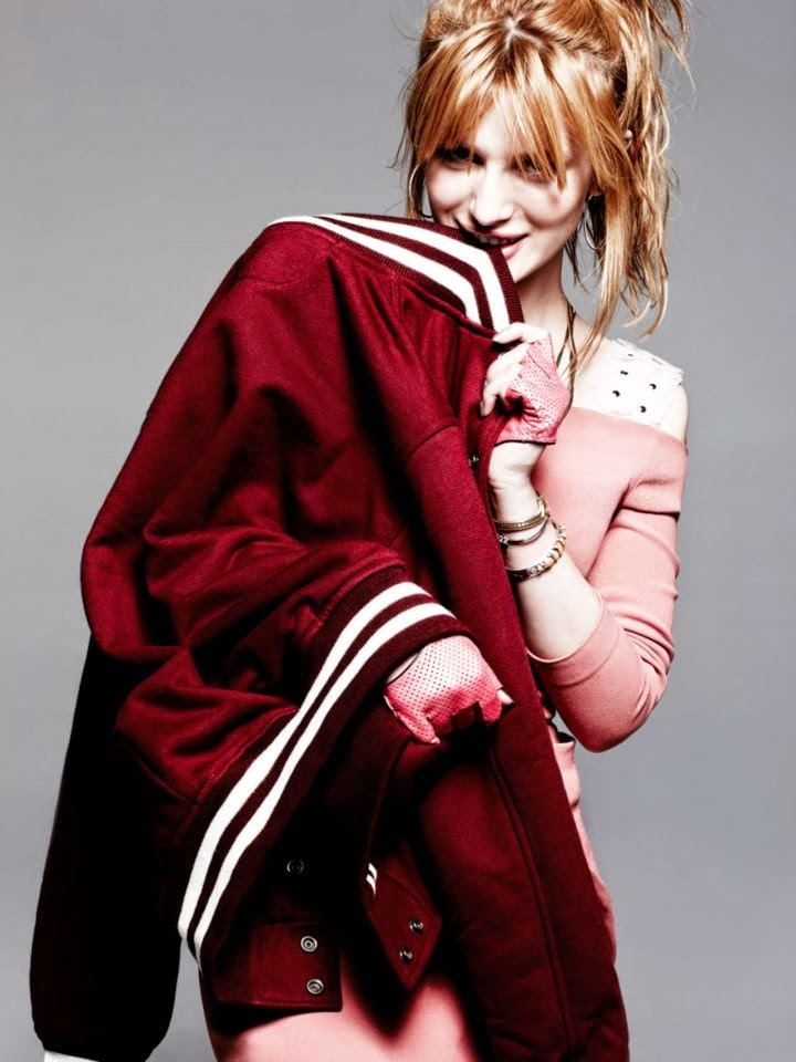 Bella Thorne goes edgy chic for Bullett Magazine 2014