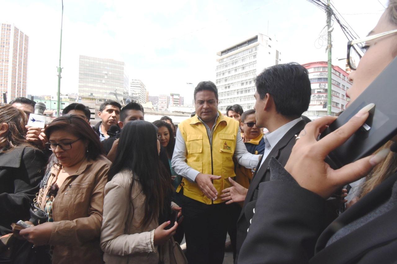 El alcalde Revilla como secretario general de SOL.BO / PRENSA SOL.BO