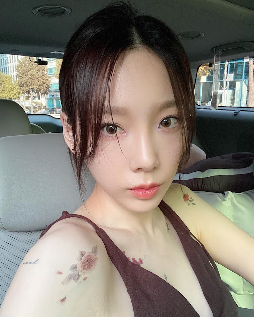 snsd taeyeon tattoos