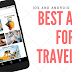 Best travel apps android & ios (recommended by thousands travelers)