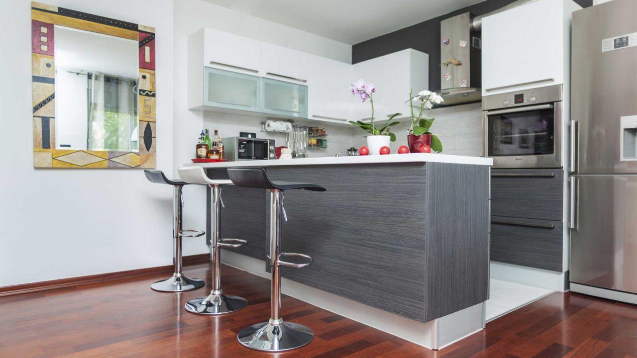 Marzua Beneficios de tener una barra americana en la cocina