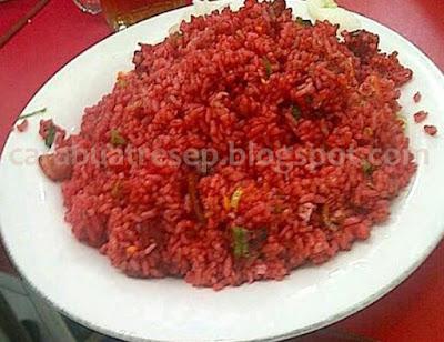 Foto Resep Nasi Goreng Merah Saus Tomat Khas Makassar Sederhana Spesial Sambal Pedas Asli Enak