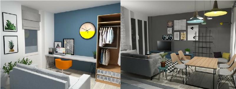 proposta progettuale Drenki Architects - GoPillar