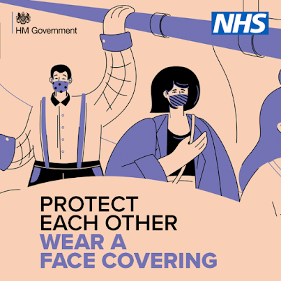 Protect each other and wear a face covering