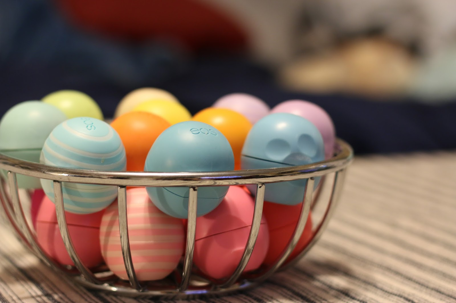 Stella, May I know how you have all the EOS lip balms? | Stella May I
