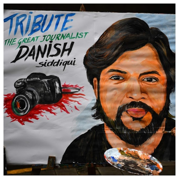 TRIBUTE TO THE GREAT JOURNALIST DANISH SIDDIGUI, WHO WAS KILLED IN A FIGHT BETWEEN AFGHAN SECURITY FORCES AND TALIBAN FIGHTERS IN SPIN BOLDAK.