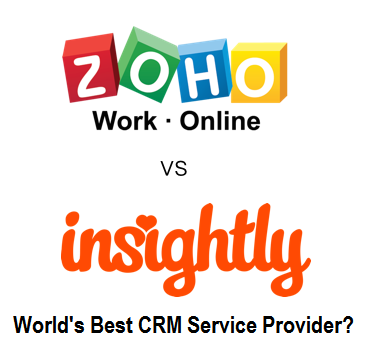 Top 2 Best CRM Software for Small Business - Insightly vs. Zoho Review