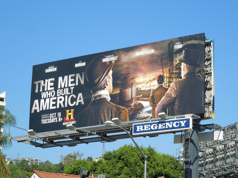 Men Who Built America billboard