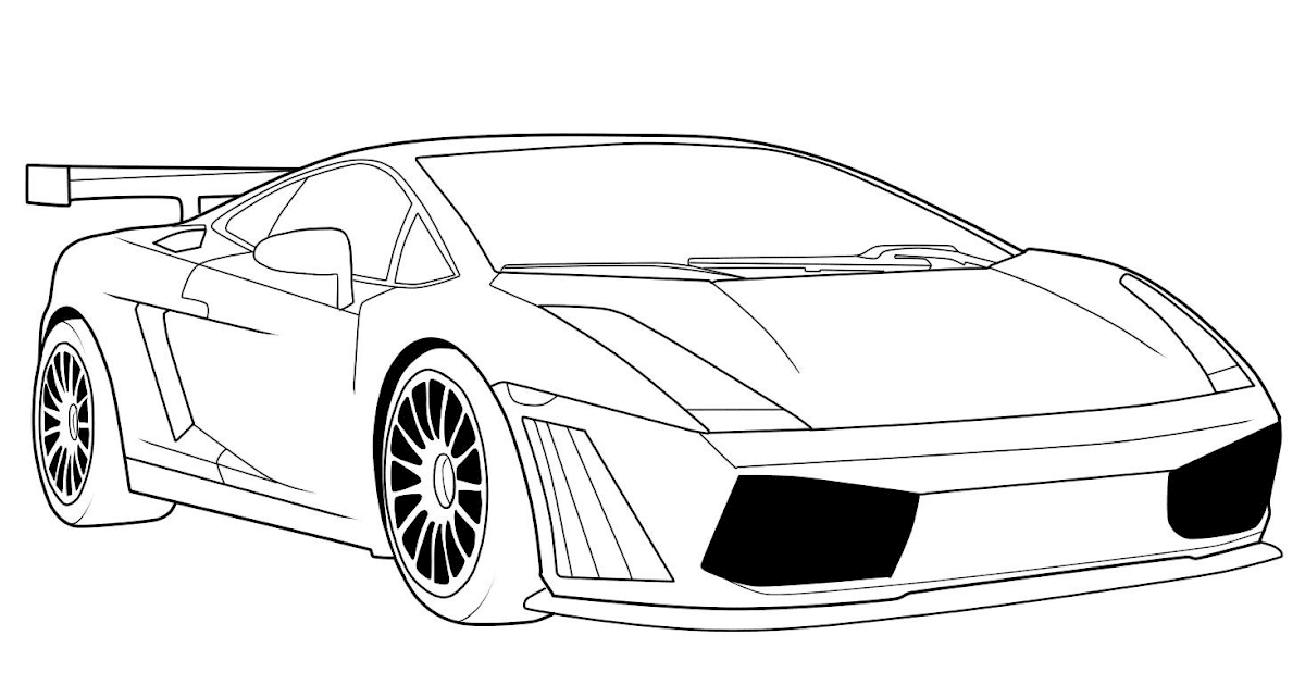 26 Gambar Mobil Lamborghini Kartun Miki Kartun