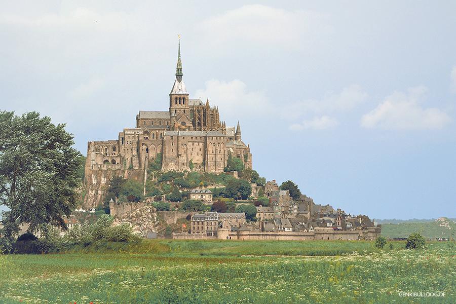 Le Mont-Saint-Michel Normandie Frankreich