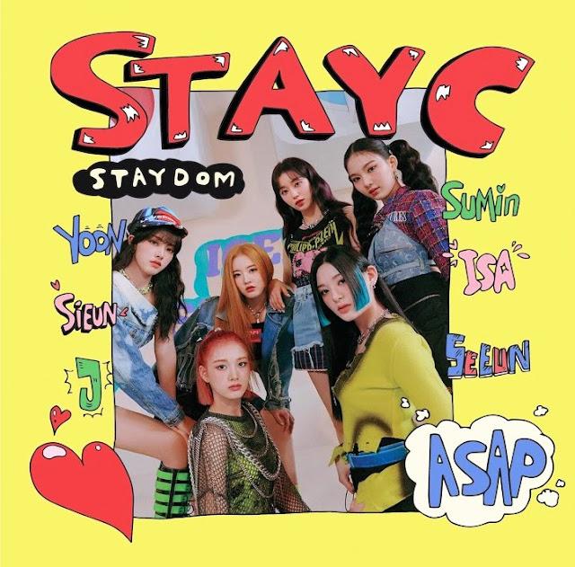 Lirik lagu STAYC ASAP dan Terjemahan