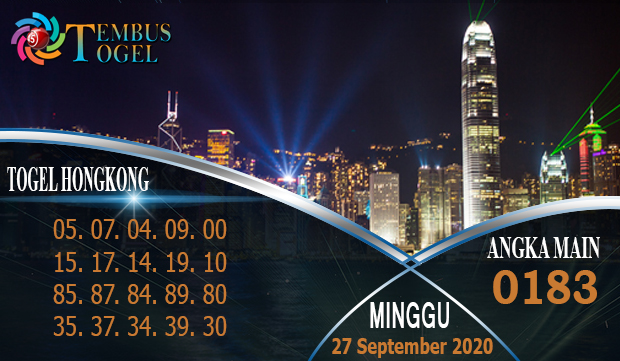 Ramalan Togel Hongkongpools Minggu 27 September 2020
