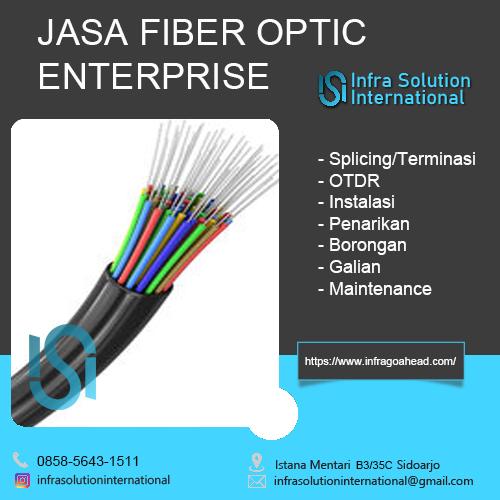 Jasa Splicing Fiber Optic Bojonegoro Enterprise