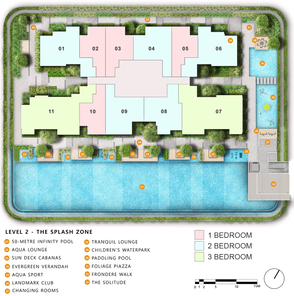 The Landmark Site Plan