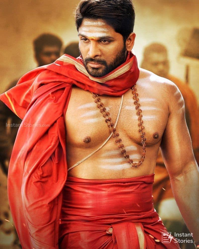 Allu Arjun Ethnical Dress