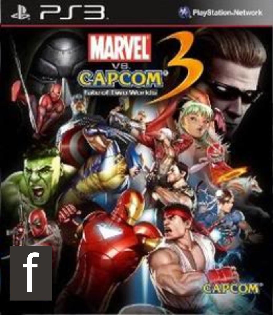 Marvel Vs Capcom 3 - PS3 ISO - Free Download PC Games