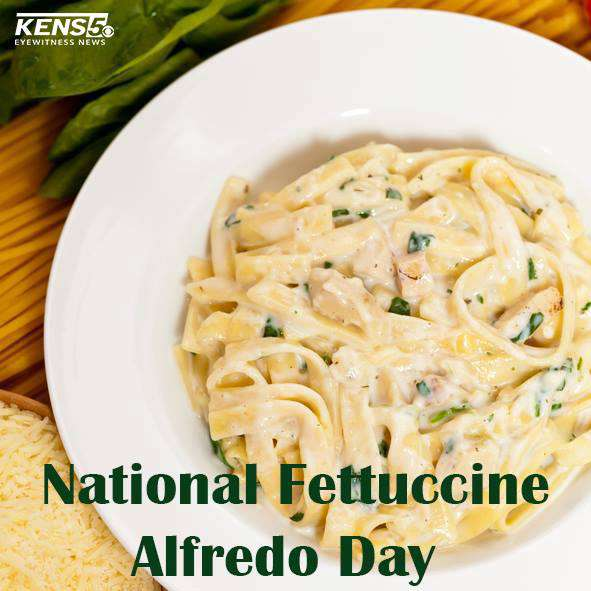 National Fettuccine Alfredo Day Wishes Images download