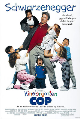 Kindergarten Cop Poster