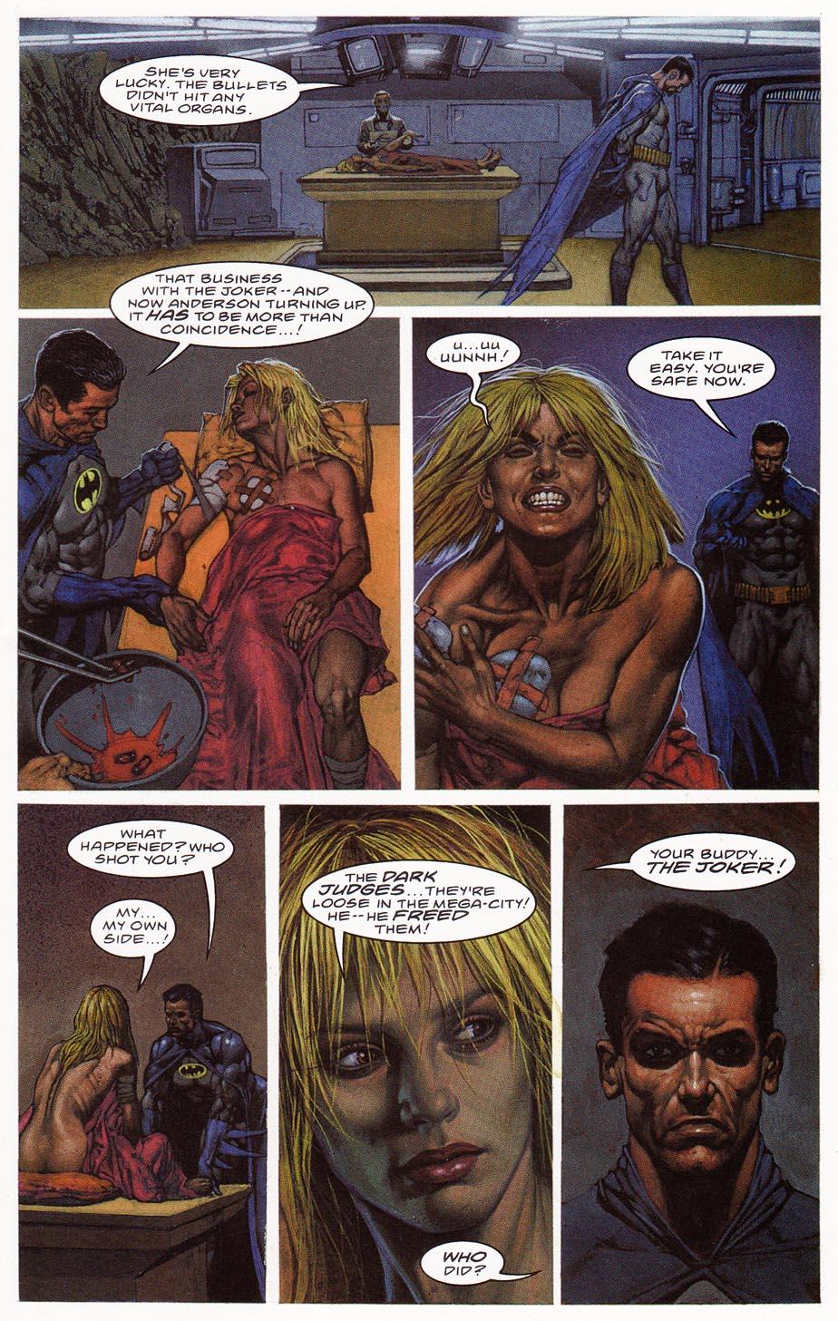 Batman & Judge Dredd – Die Laughing (Part 1)   Viewcomic reading
