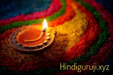 diwali celebration diya