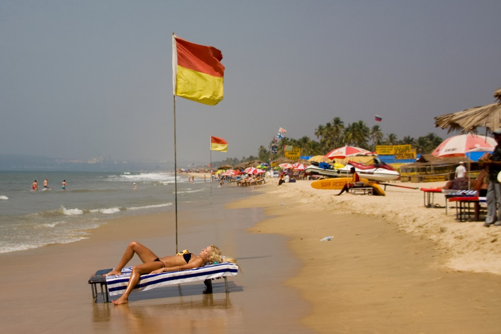 Morjim Is A Picturesque Portion Of Goa S 103 Square Metre Long Sline In The North Swish And Rustle Waters Arabian Sea Chapora