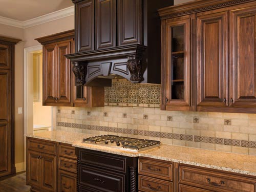 Easy kitchen tile backsplash ideas. the pros and cons of vinyl ...