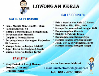 Sales di CV Indotech Water