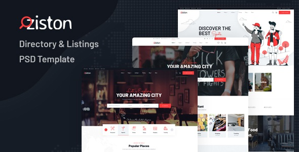 Best Directory & Listings Website Template